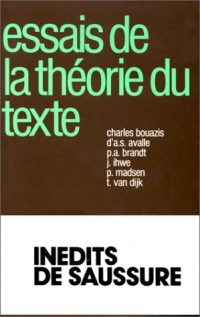 Essais sur la théorie du texte