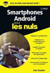 Smartphones Android pour les Nuls poche [Poche]