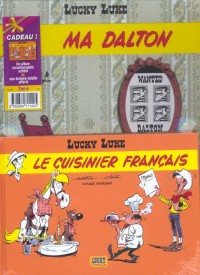 Lucky Luke, 2 BD pour le prix d'une : Ma Dalton - Le Cuisinier français (gratuit)
