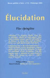 Elucidation, numéro 10