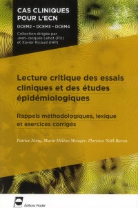 Lecture Critique d Article Méthodologie