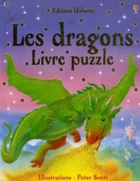 Les dragons : Livre puzzle
