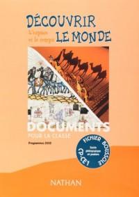 Boussole, découverte du monde : Géographie, cycle 2 (Manuel du professeur + 12 posters)