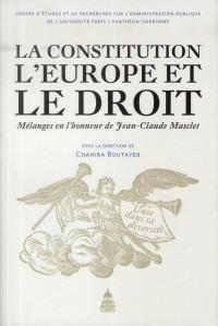 Constitution l Europe et le Droit