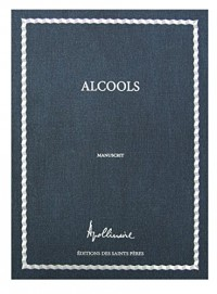 Alcools : Manuscrit