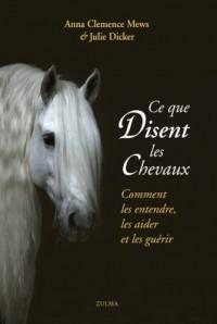 Ce que disent les chevaux