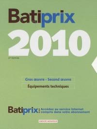 Batiprix : Coffret en 2 volumes, Gros oeuvre-second oeuvre ; Equipements Techniques
