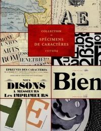 Collection de spécimens de caractères 1517-2004