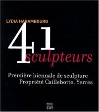 41 sculpteurs