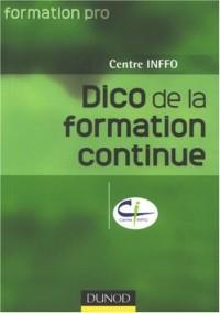 Dictionnaire de la formation continue