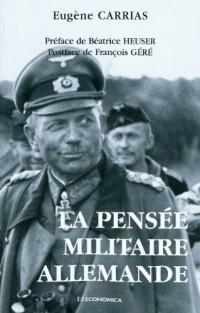 La pensée militaire allemande