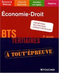 ECONOMIE DROIT BTS (Ancienne édition)