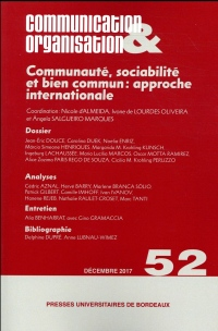 Communaute, Sociabilite et Bien Commun: Approche Internationale