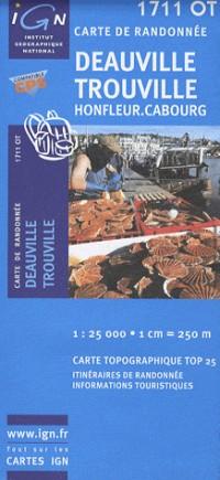 Deauville/Trouville/Honfleur/Cabourg GPS: IGN.1711OT