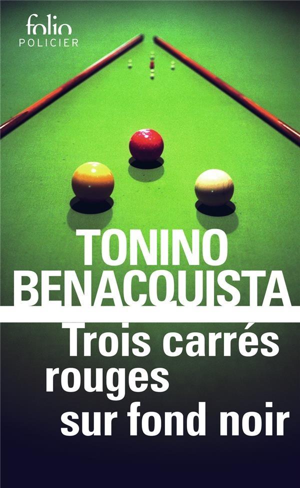 Trois carrés rouges sur fond noir – ToninoBenacquista