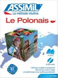 Le Polonais ; Livre + CD Audio (x4)