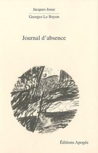 Journal d'absence