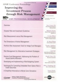 Improving the Investment Process through Risk Management