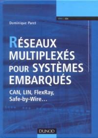 Réseaux multiplexés pour systèmes embarqués : CAN, LIN, FlexRay, Safe-by-Wire...