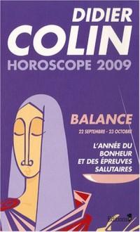Balance : Horoscope 2009