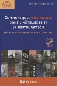 Communiquer en anglais dans l'hôtellerie et la restauration