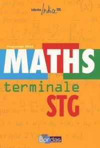 Maths Tle STG : Programme 2006
