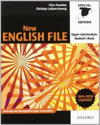 New English File Upper-Intermediate: Student's Book and Workbook With Answer Key Pack