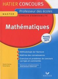 Mathématiques : Epreuve écrite d'admissibilité Professeur des écoles