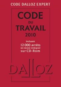 Code Dalloz Expert : Code du travail 2010 : incluant 12 000 arrêts en texte intégral sur CD-ROM (1Cédérom)