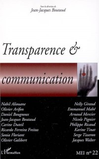 Transparence et Communication