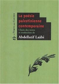 La poésie palestinienne contemporaine