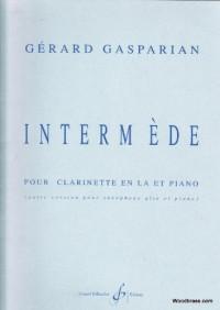 Intermede : pour Clarinette en la et Piano