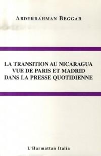 La transition au nicaragua vue de paris et madrid dans la presse quotidienne