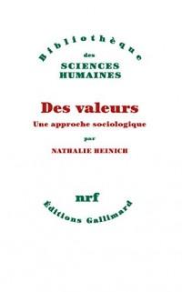 Des valeurs: Une approche sociologique