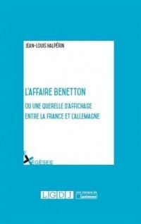 L'affaire Benetton