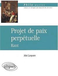 Projet de paix perpétuelle, Kant