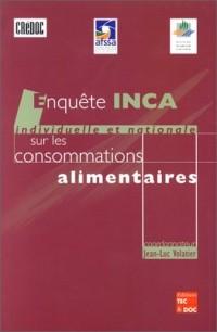 Enquête individuelle et nationale sur les consommations alimentaires collection AFSSA