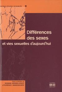 Différences des sexes et vies sexuelles d'aujourd'hui