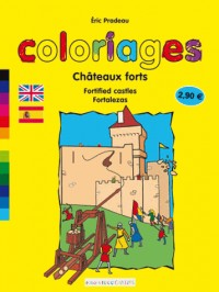 Coloriages Chateaux Forts