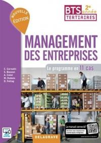 Management des entreprises BTS tertiaires 2e année : Le programme en 11 cas