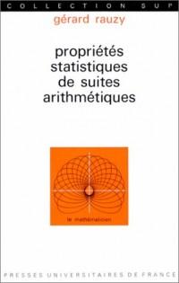 Propriétés statistiques de suites arithmétiques