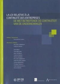 La loi relative à la continuité des entreprises : Livre bilingue français-néerlandais