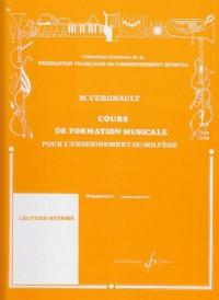 Cours de Formation Musicale pour l'Enseignement du Solfège Préparatoire 1