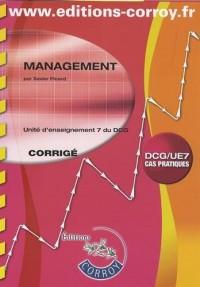 Management DCG 7 : Corrigé