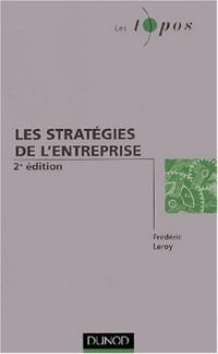 Les stratégies de l'entreprise