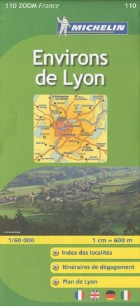 Environs de Lyon : 1/60 000