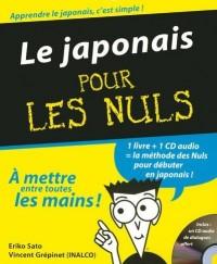 Le japonais pour les nuls (1CD audio)