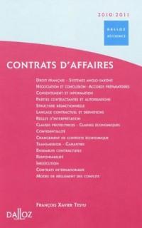 Contrats d'affaires