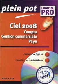 Ciel 2008 : Compta-Gestion commerciale-Paye (1Cédérom)