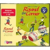 ROUND THE CORNER 5E -CD CLASSE 07 Livre scolaire